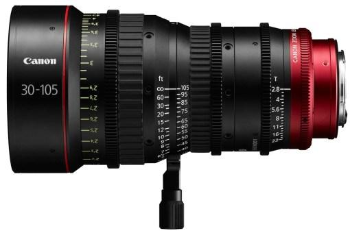 Canon Compact Zoom Cine Lens CN-E 30-105mm T2.8 Monture EF - Objectif Zoom