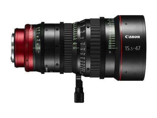 Canon Compact Zoom Cine Lens CN-E 15.5-47mm T2.8 Monture EF - Objectif Zoom Cinéma