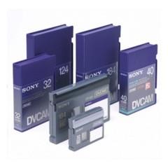 Cassettes DVCAM et HDV