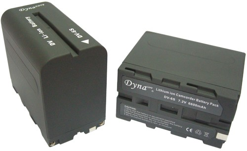 Dynacore type NPF970 7.2V 6600mAh - Batterie