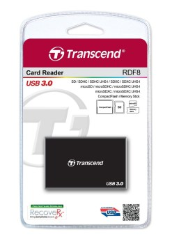 LECTEUR DE CARTE MEMOIRE MULTI FORMAT TRANSCEND USB3