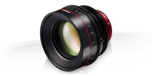 OPTIQUE PRIME CINE LENS EF 85mm T1.3 CANON