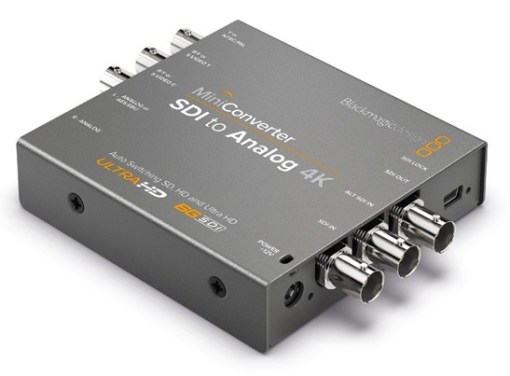 Blackmagic Design Mini Converter SDI to Analog 4K - Convertisseur
