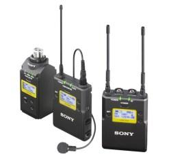 Sony UWP-D16 - Kit HF Micro Cravate Émetteur Récepteur