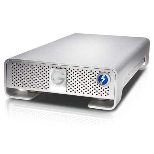 G-Technology 4 To G-Drive Thunderbolt & USB 3.0 - Disque Dur Externe