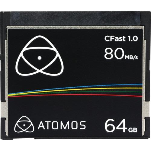 CARTE CFAST ATOMOS 64GB