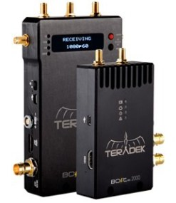KIT DE TRANSMISSION HF TERADEK BOLT 2000 HDMI/SDI