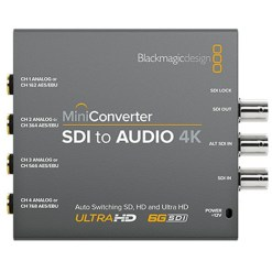 MINI CONVERTISSEUR BLACKMAGIC SDI VERS AUDIO 4K