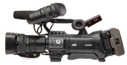 CAMESCOPE D'EPAULE JVC GY-HM850 SANS OPTIQUE