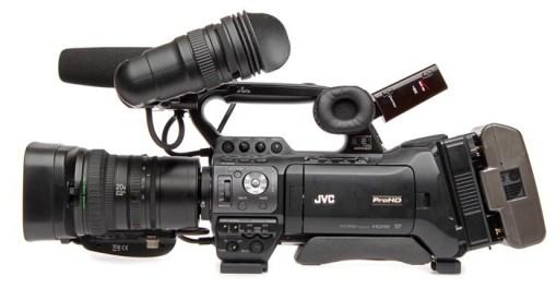 JVC GY-HM850 sans Optique - Caméra d'épaule