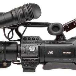 CAMESCOPE D'EPAULE JVC GY-HM850 SANS OPTIQUE