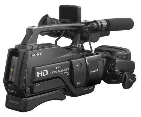 CAMESCOPE SONY HXR-MC2500E