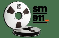 BANDE SM911 762 metres 1.4'' Bobine Metal Boite
