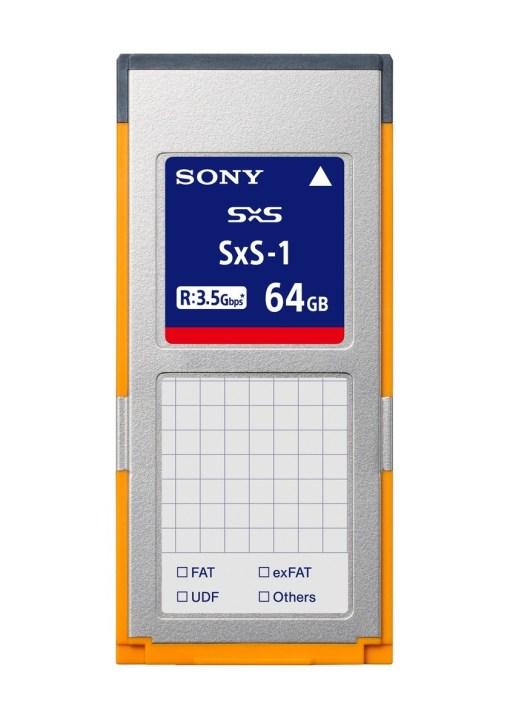 CARTE SONY SxS-1 64 GB