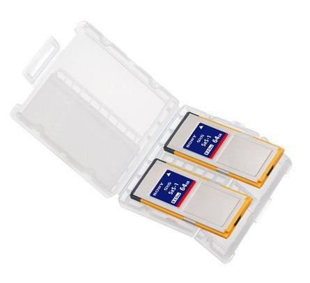 LOT DE 2 CARTES SONY SxS 64 GB