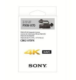 UPGRADE 4K POUR SONY PXW-X70