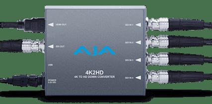 CONVERTISSEUR AJA 4K2HD