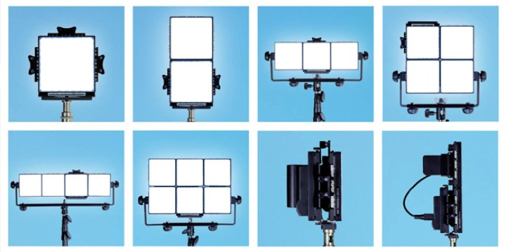 KIT SATELLITE EXALUX LED BRIKS