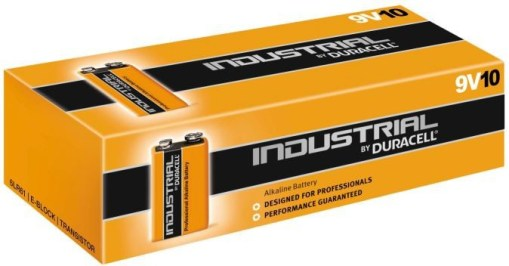 PILE DURACELL INDUSTRIAL V9