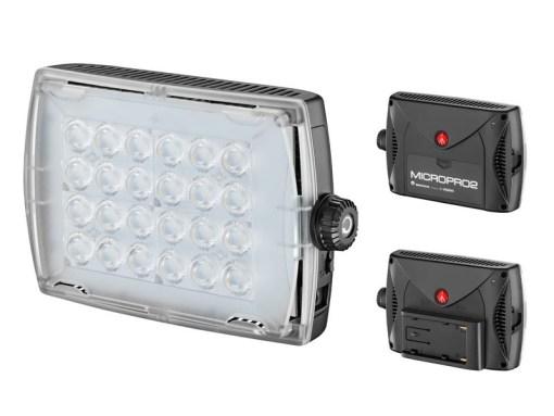 TORCHE A LED MANFROTTO 910 lux LP MICRO PRO