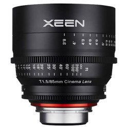 OBJECTIF PRIME XEEN 85MM MONTURE PL T1.5 IMPERIAL