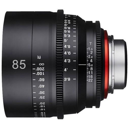 XEEN 85mm T1.5 Métrique Monture EF - Objectif Prime Cinéma