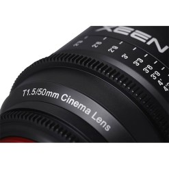 OBJECTIF PRIME XEEN 50MM MONTURE E T1.5 IMPERIAL