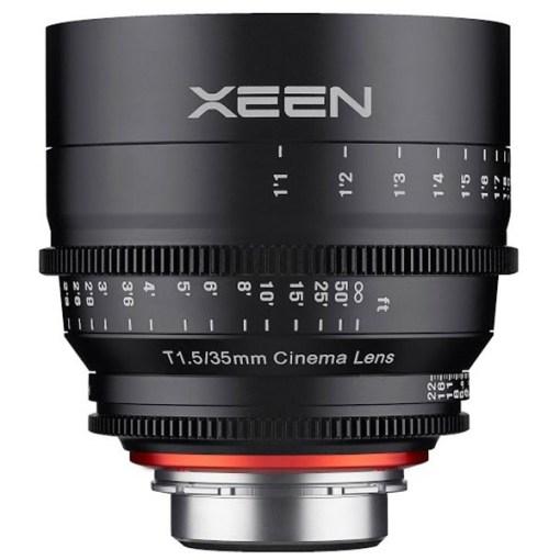 XEEN 35mm T1.5 (Sony E, imperial) - Objectif Prime Cinéma
