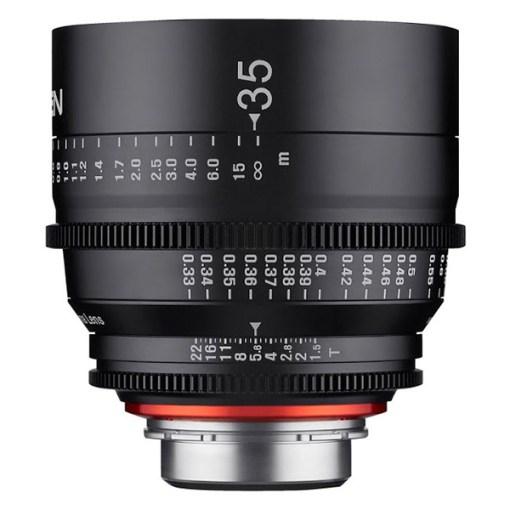XEEN 35mm T1.5 (PL, métrique) - Objectif Prime Cinéma
