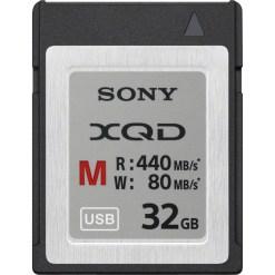 CARTE XQD 32GB SERIE M SONY