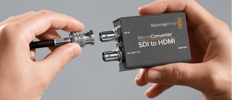 Blackmagic Design Micro Converter SDI to HDMI - Convertisseur