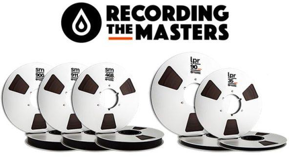 Recording The Masters : le retour des bandes analogiques