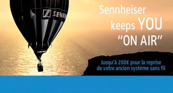 Sennheiser keeps YOU on air – PROMO #TERMINE