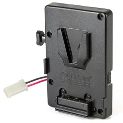 PLAQUE BATTERIE V-MOUNT POUR CAMERA AJA CION