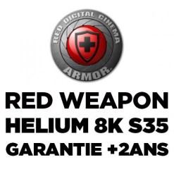 RED ARMOR - EXTENSION DE GARANTIE RED WEAPONHELIUM 8K S35 +2ANS