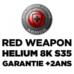 RED ARMOR - EXTENSION DE GARANTIE RED WEAPON HELIUM 8K S35 +2ANS