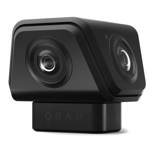 CAMERA VR 360° AMBISONIC STITCHING INTEGRE ET STREAMING