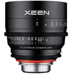 XEEN 135mm T2.2 Métrique Monture E- Objectif Prime