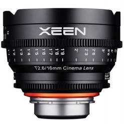 OBJECTIF PRIME XEEN 16MM MONTURE E T2.6 24x36MM PIED