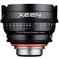 XEEN 16mm T2.6 Métrique Monture E - Objectif Prime