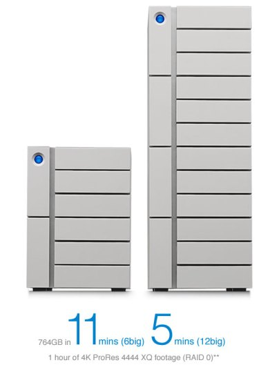 LaCie 48 To 6 Big Thunderbolt 3 - Disque Dur Raid