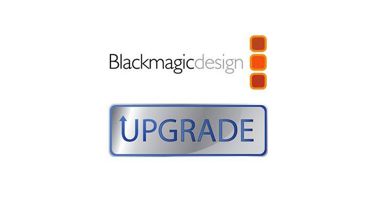 Deux nouvelles mises à jour Blackmagic Design !