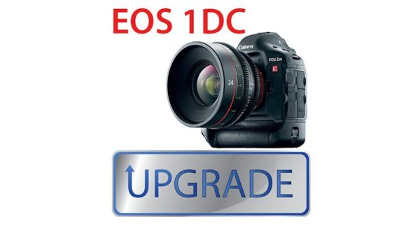 Nouvelle mise à jour du firmware de l'EOS-1D C Version1.3.4
