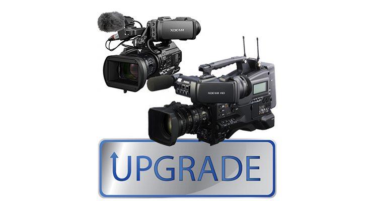 Upgrade Sony PMW-300 et PMW-400