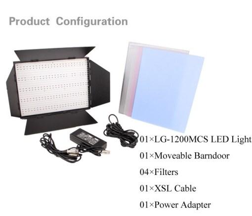 Ledgo LG-1200MCSII - panneau bi-couleur