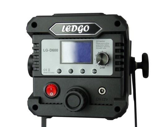Ledgo LG-D600 - projecteur fresnel Mono-couleur