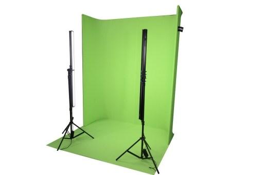Ledgo LG-1822U - fond studio vert
