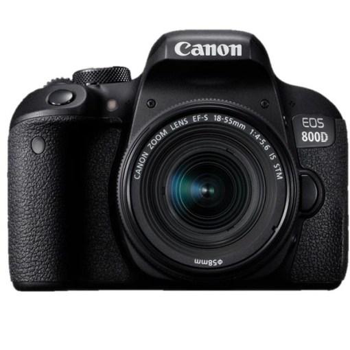 KIT CANON EOS 800D+18-200 IS+SAC CANON+CARTE