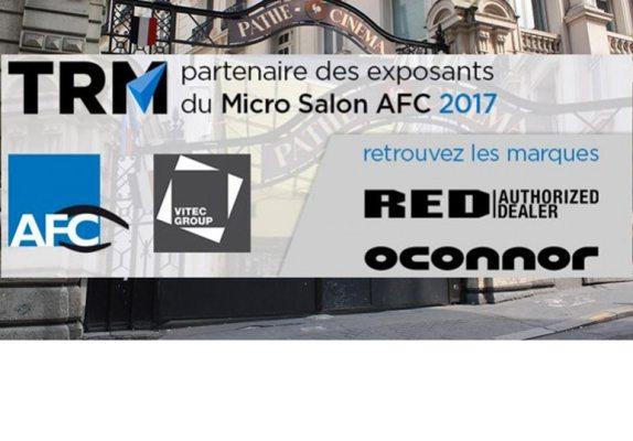 TRM partenaire du micro salon AFC 2017