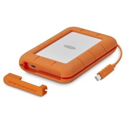 LaCie 5 To Rugged Thunderbolt & USB-C - Disque Dur Externe